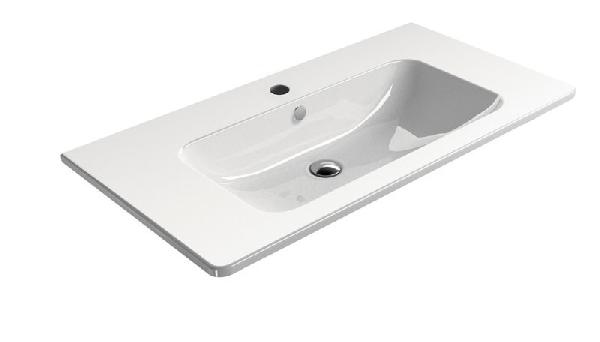 PURA Kerámia mosdó, 100x50cm, fehér (8823111)