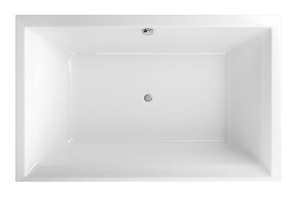 Excellent CROWN LUX 190x120 egyenes fehér akril kád