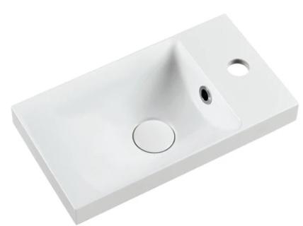 Marmy KAREN 40x22 fényes fehér