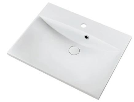 Marmy CARMEN 60x46 fényes fehér