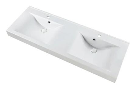 Marmy RAVENNA 140x50 fényes fehér