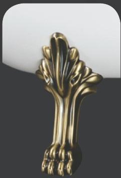 Marmy OROSZLÁN KÁDLÁB (bronz)