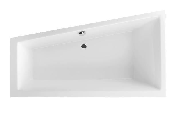 Excellent M-SFERA Slim 160x95 balos akril asszimetrikus kád