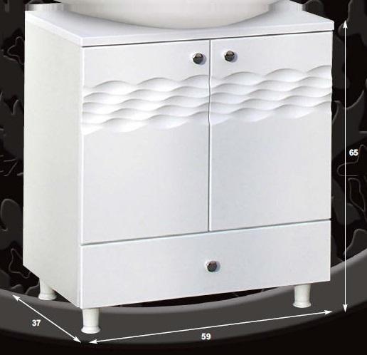 Guido ÓCEÁN 1007 mosdó alá tolható fiókos mosdó nélkül