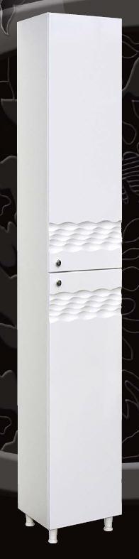 Guido Ocean-1009 fürdőszobabútor oldalsó kiegészítő szekrény két ajtóval