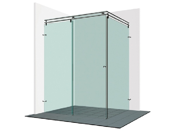 Varioglass Vendum V21-es tolóajtós zuhanykabin 140x90x200 cm