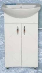 Libra 500 szekrény + Cersanit mosdó