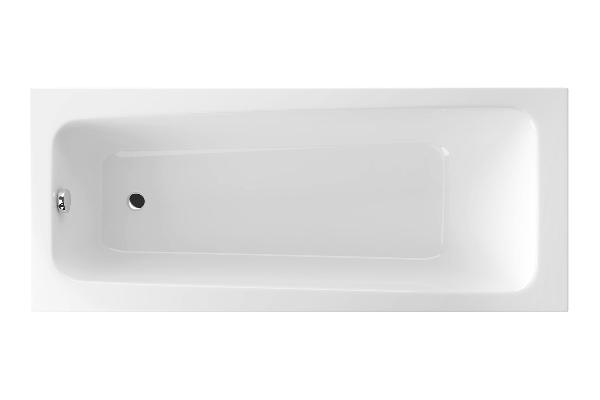 Excellent Ava 150x70 egyenes fehér akril kád