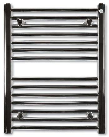 Hopa Omega R 400 x 1173 fehér fürdőszobai radiátor