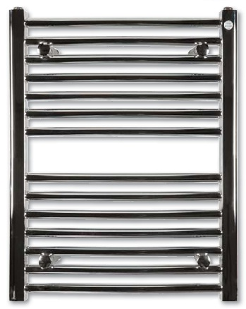 Hopa Omega R 600 x 1173 fehér fürdőszobai radiátor