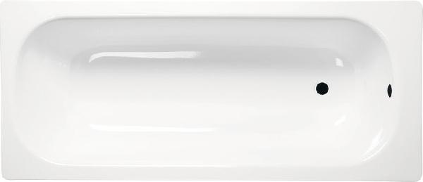 Aqualine lemezkád 160x70x38 cm, láb nélkül, fehér (V160x70)