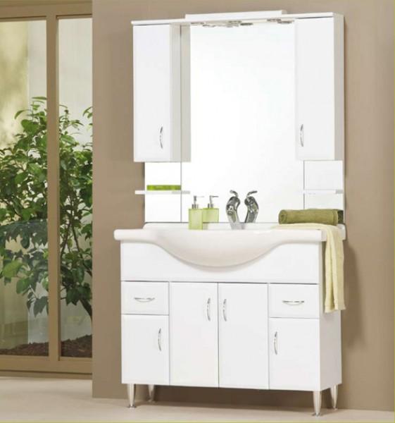 Tboss Bianka fürdőszobabútor szett 105cm - több színben