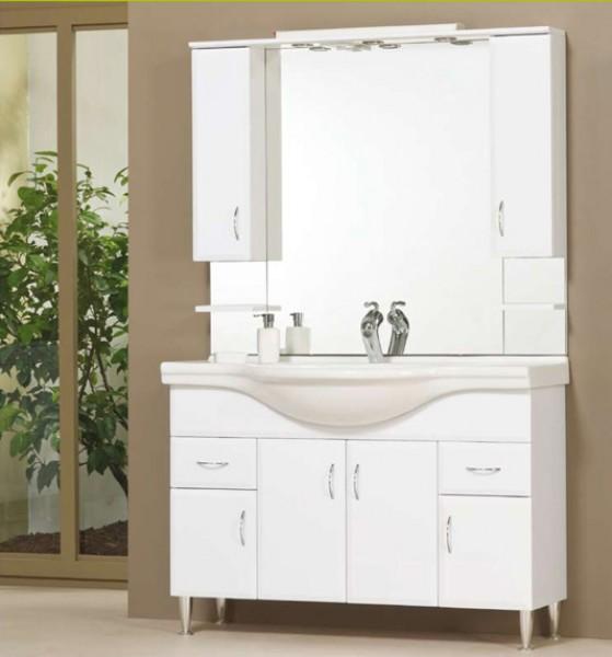 Tboss Bianka fürdőszobabútor szett 120cm - több színben