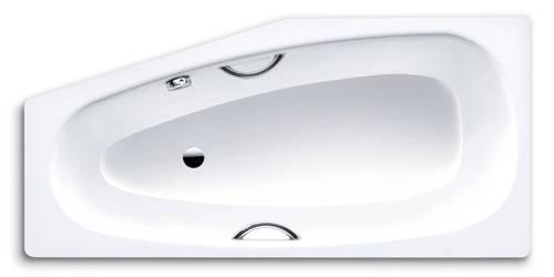 Kaldewei Mini Star 157x70x43 jobbos asszimetrikus kád (láb külön) fogantyú furatos 835
