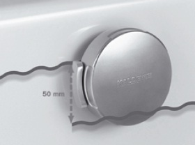 Kaldewei COMFORT-LEVEL vízszint-szabályzós lefolyó készlet, be- le- és túlfolyó  hosszabbított CONODUO  kádhoz, 4014