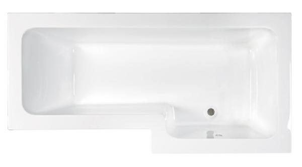 M-acryl Linea 150x70/85 jobbos kád + láb