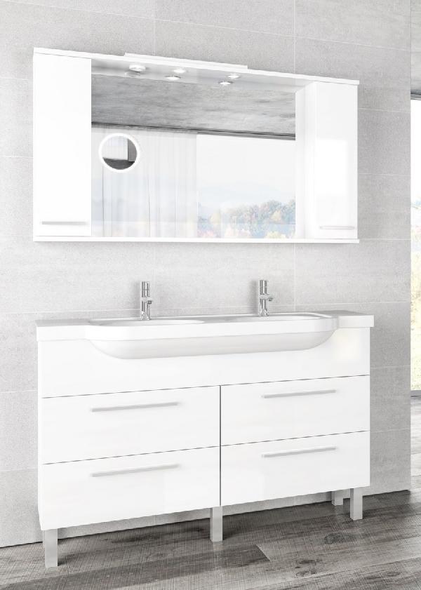 Tboss Trend fürdőszobabútor szett 130cm (2M/2CS)- több színben