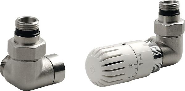 Aqualine ECO csatlakozó készlet termosztáttal, nikkelkróm, jobb (CP9912R)