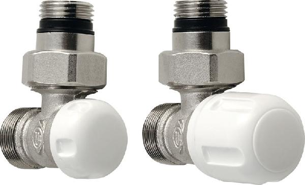 Aqualine ECO csatlakozó készlet, fehér-króm (CP9810)