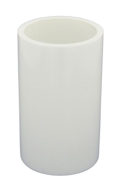 Aqualine PARIS fogkefe tartó üvegpohár, fehér vagy fekete