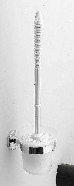 Aqualine SAMBA WC kefe tejüveg tartóval (SB108)