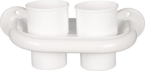 Aqualine KOVEX pohártartó, fehér (8007)
