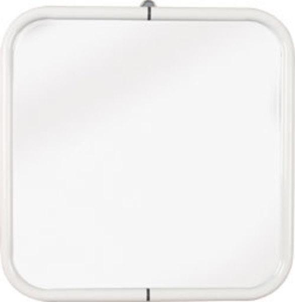 AQUALINE WHITE LINE Tükör 44x44 cm, fehér (8000)