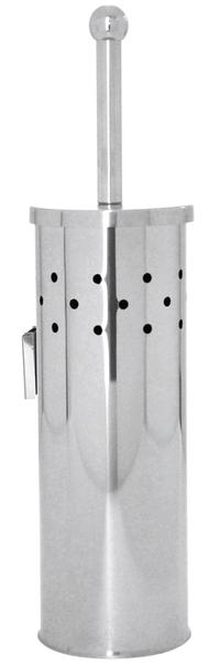 Aqualine SIMPLE LINE WC kefe falra szerelhető, csiszolt inox (GA1223)