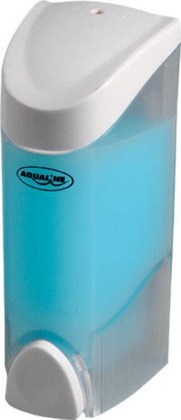 Aqualine szappanadagoló 200 ml, 6,5x16x8,2 cm, fehér (1319-70)