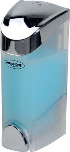 Aqualine szappanadagoló 200 ml, 6,5x16x8,2 cm, króm (1319-71)