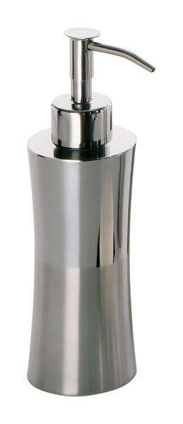 Aqualine szappanadagoló, 56x184x56 mm, rozsdamentes acél (PR8121)