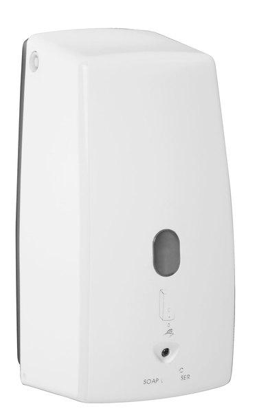 Aqualine érintés nélküli szappanadagoló, 500 ml, 110x225x105 mm, fehér (2090)