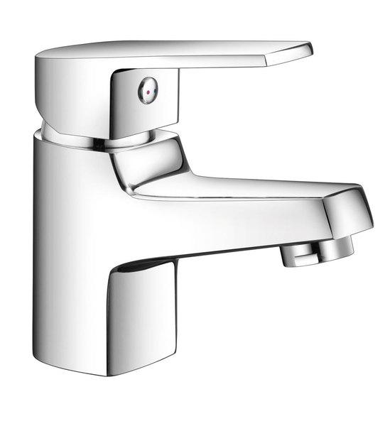 Aqualine ARETA 35 mosdó csaptelep lefolyó nélkül, króm (GH368)