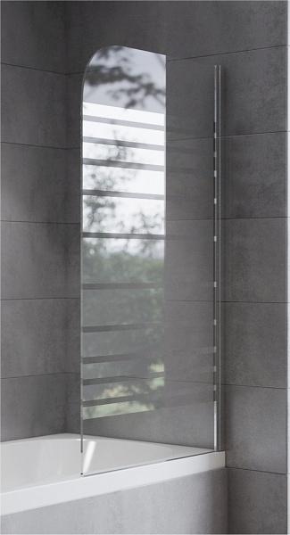 Sanimix Egyrészes nyíló kádparaván 75x130
