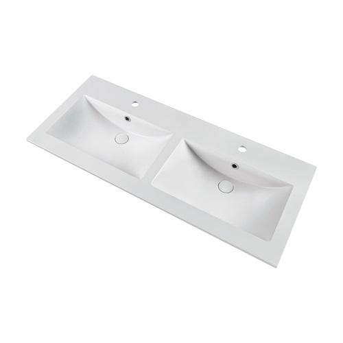 Marmy LISETTE Plus 120x51 dupla mosdó