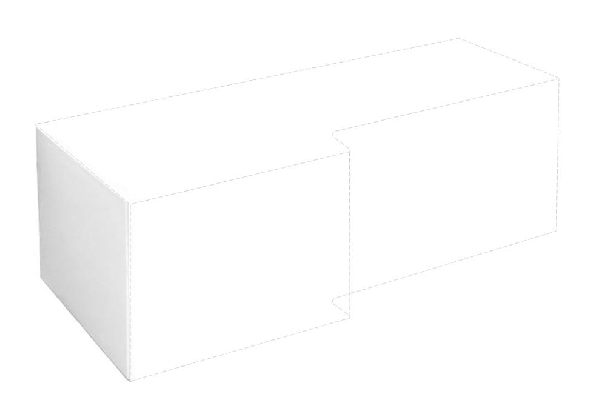 M-acryl Linea 70 oldallap