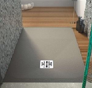 Marmy öntött márvány szögletes zuhanytálca 80x120 - 4 féle választható színben