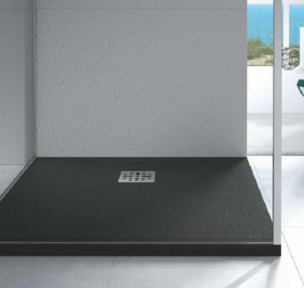 Marmy öntött márvány szögletes zuhanytálca 90x90 - 4 féle választható színben