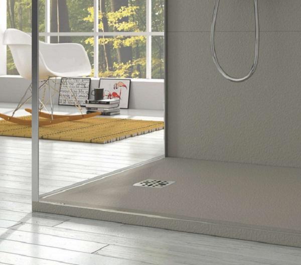 Marmy öntött márvány szögletes zuhanytálca 90x100 - 4 féle választható színben