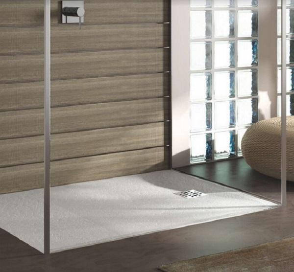 Marmy öntött márvány szögletes zuhanytálca 90x120 - 4 féle választható színben