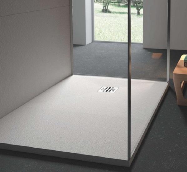 Marmy öntött márvány szögletes zuhanytálca 90x140 - 4 féle választható színben