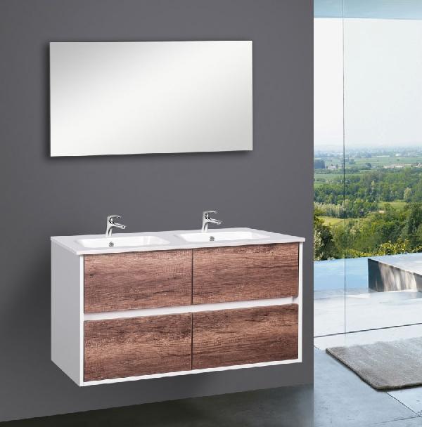 Wellis Ginger 120 komplett fürdőszoba szekrény - szett akció