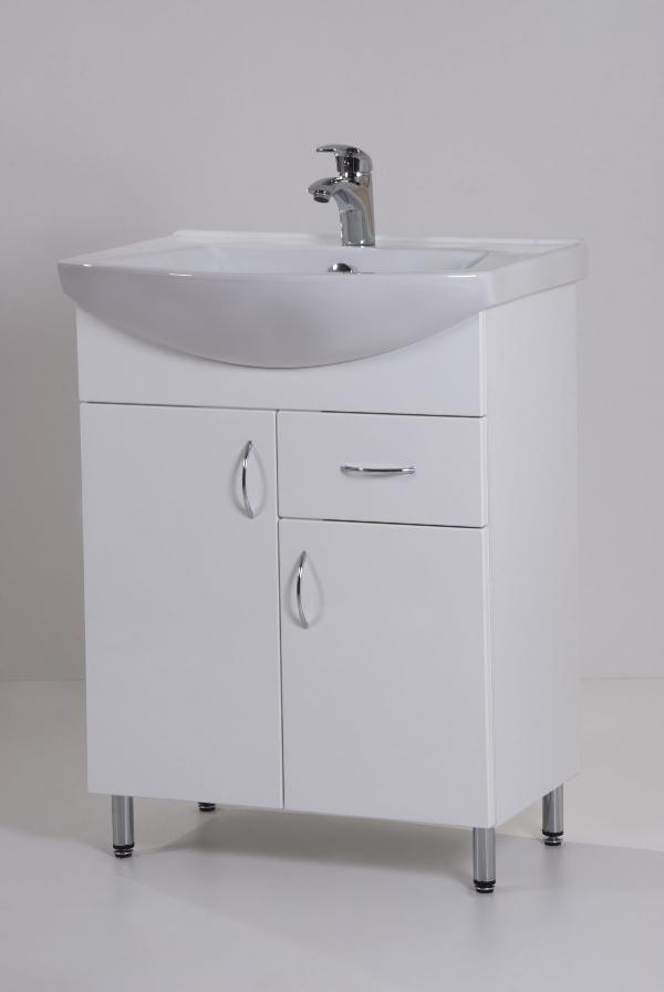 Hartyán Standard 65F mosdós fürdőszoba szekrény