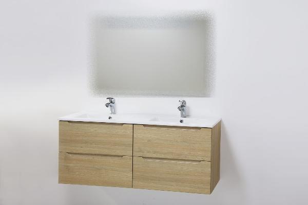 Hartyán Elit 120 mosdós fürdőszoba szekrény sonoma színben