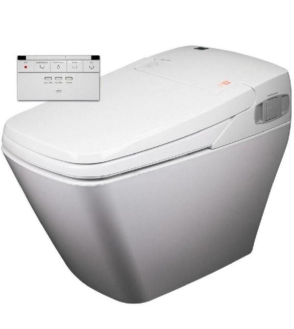 Easy-Bid VOVO TCB 080 toilet komplett wc berendezés öblítővel és elektromos bidével ellátva