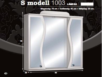 """Guido """"S"""" MODELL 1003 lámpás"""