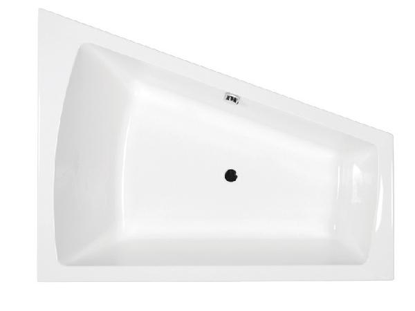 M-acryl Trinity 160x120 jobbos kád + láb