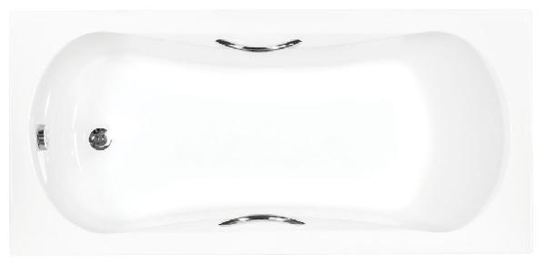 Besco Aria plus 140x70 akril egyenes kád, standard kapaszkodókkal raktáron