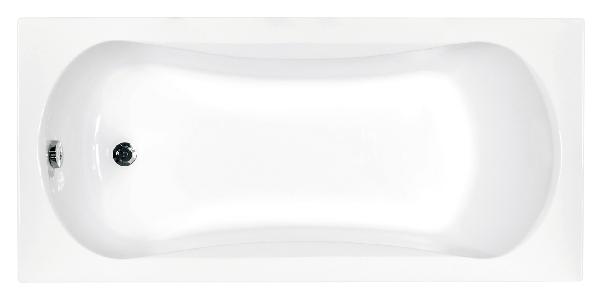 Besco Aria prosafe 150x70 akril egyenes kád - sekély