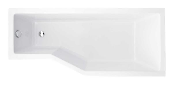 Besco Integra 170x75 akril jobbos asszimetrikus kád